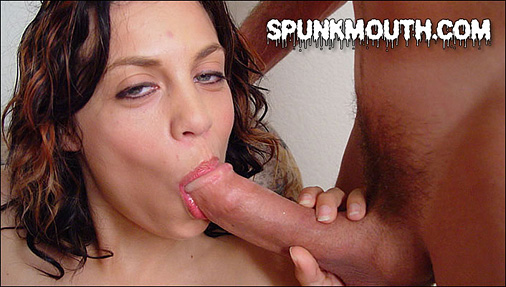 Kimmys cream pie spunk mouth